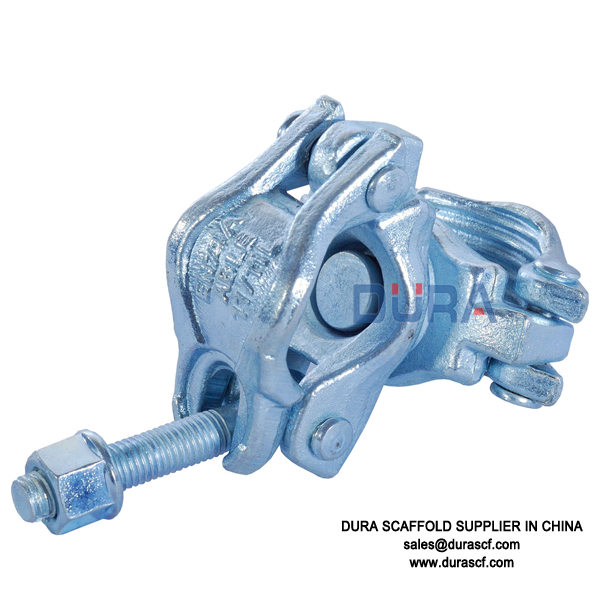 Anti-slipping swivel coupler