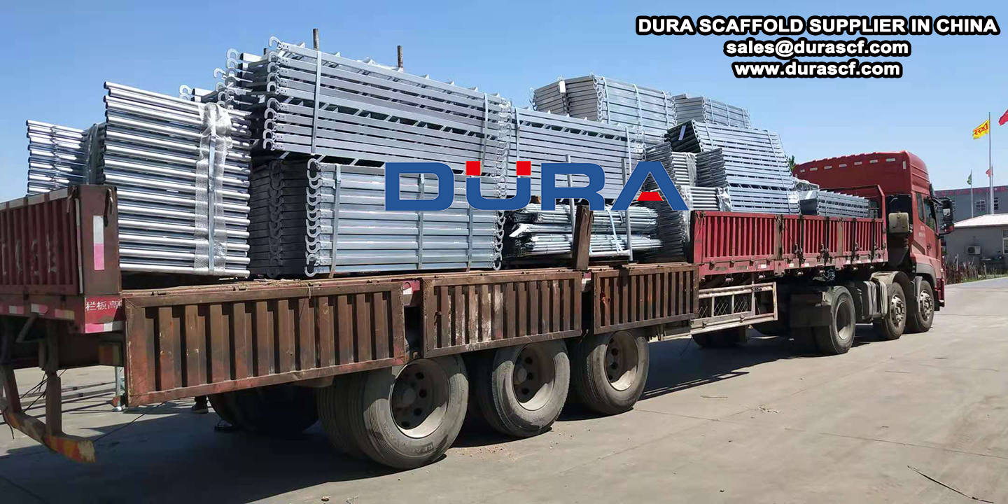 frame scaffolding delivery