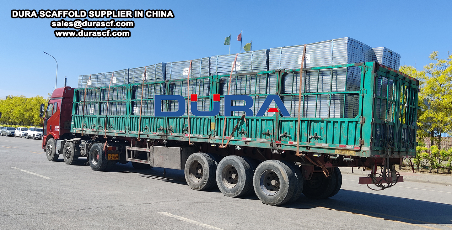 scaffolding steel planks delivery