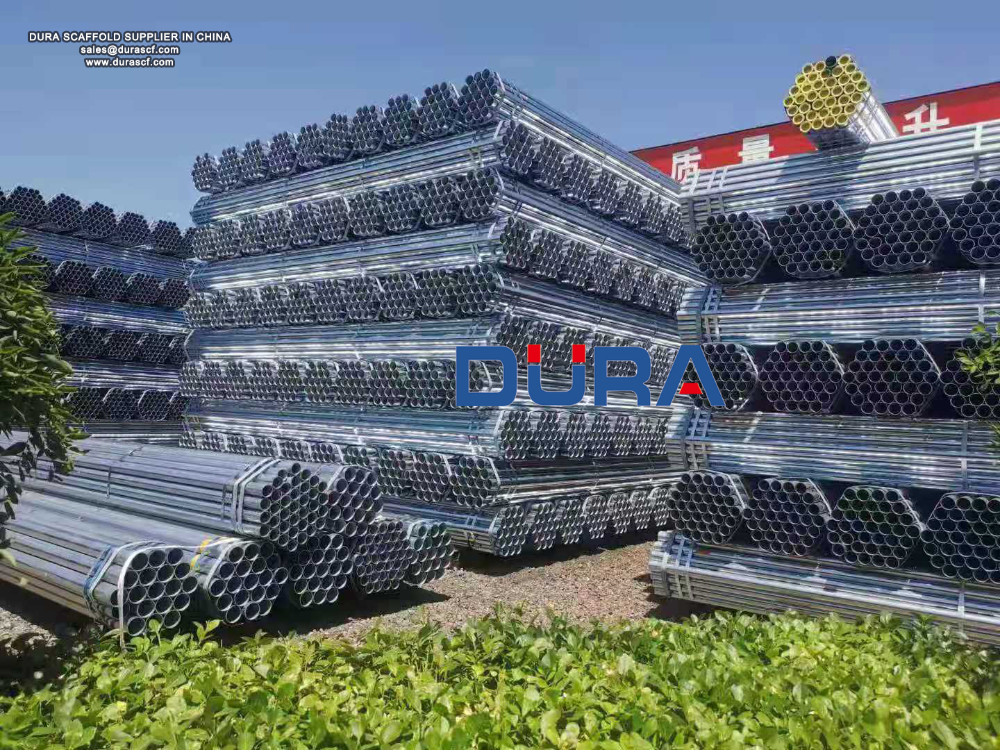 BS1139 scaffolding pipes