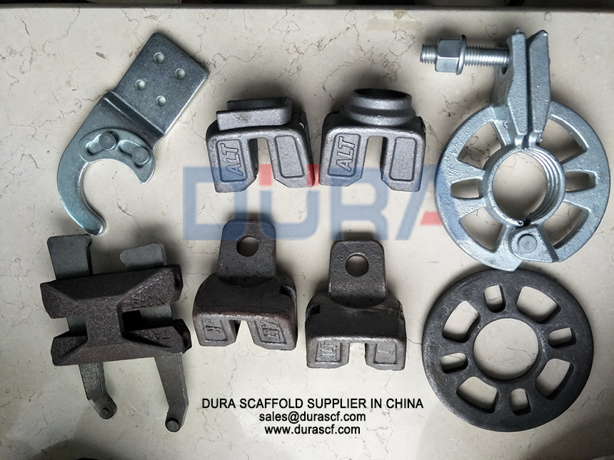 ringlock accessories rosettes and ledger ends